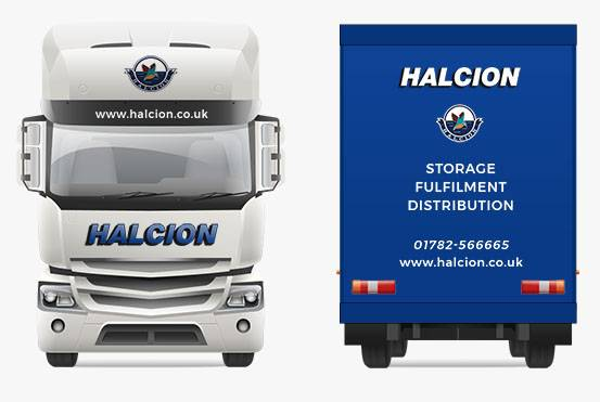 Halcion Express Truck Front and Back