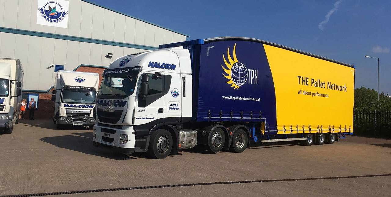 Halcion provide pallet delivery in Crewe and the surrounding areas